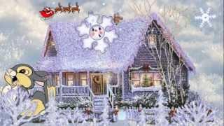 Детские песни - Серебристые снежинки