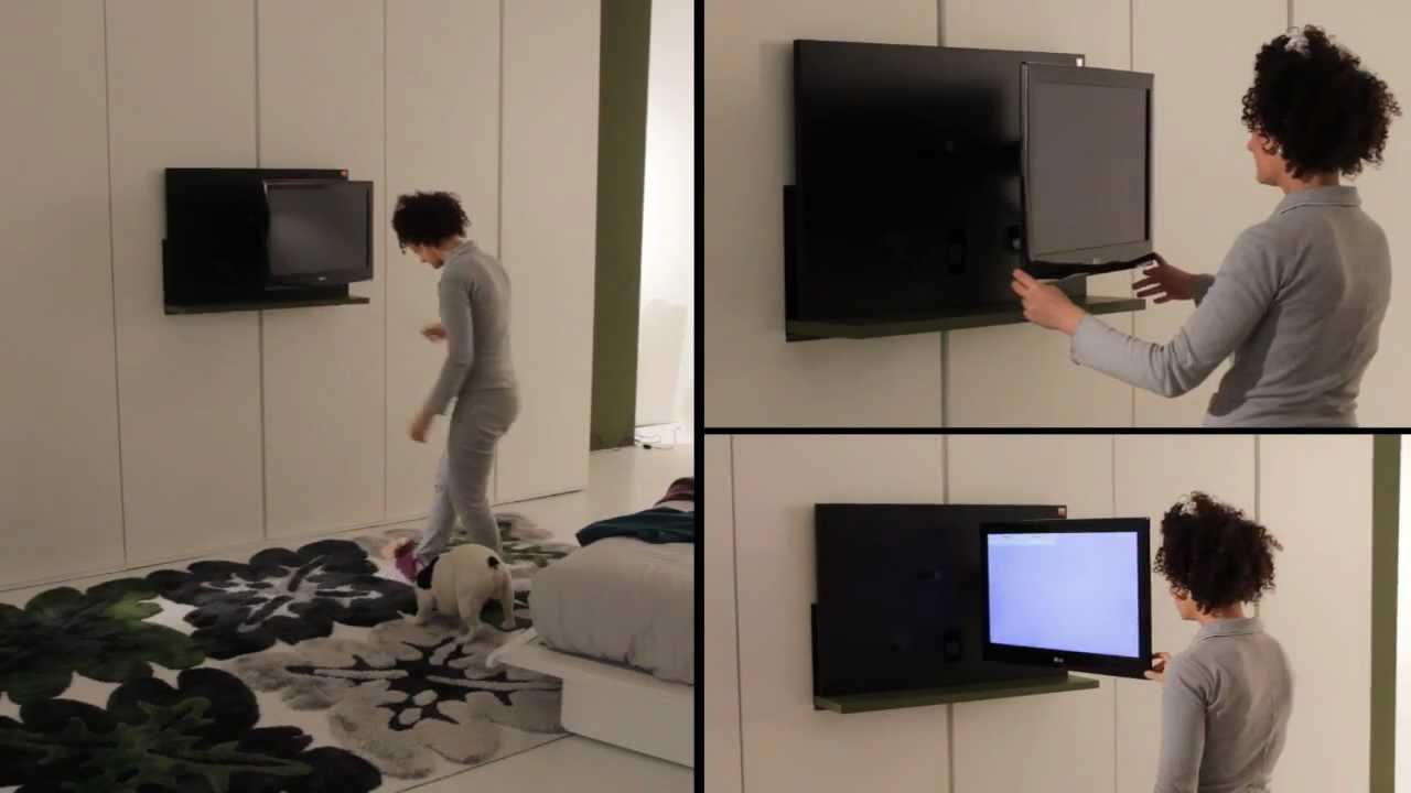 Armadio porta tv emotion letto pliss gli originali by fimar armadi moderni youtube - Porta televisore ikea ...