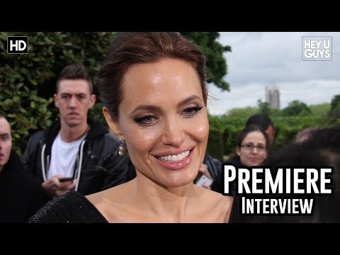 Angelina Jolie Interview - Maleficent Premiere