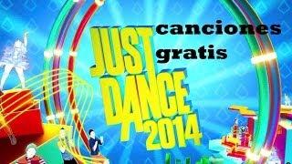 Como Descargar Canciones Just Dance 2014 GRATIIS!! Para