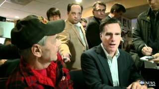 Gay Veteran Confronts Mitt Romney