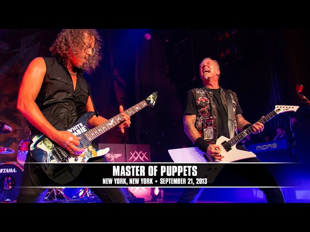 Metallica - Master Of Puppets (Live in New York, NY at the Apollo Theater) - MetOnTour