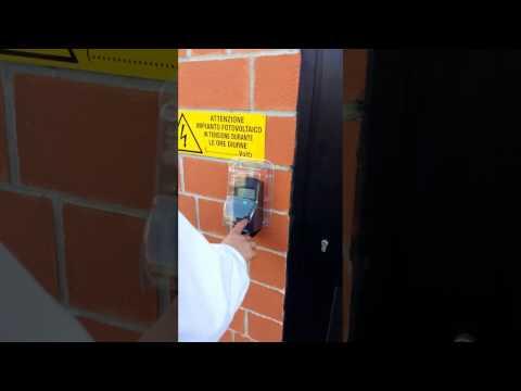 VF30 controllo accessi biometrico per esterno con varco pedonale