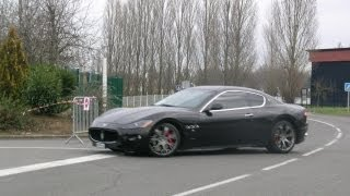 Maserati Granturismo - Ride, sound, acceleration