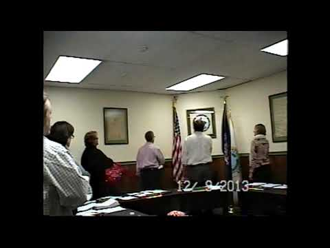 Champlain Village Board Meeting 12-9-13