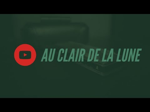 Au clair de la lune - Tablature pour harmonica diatonique en do