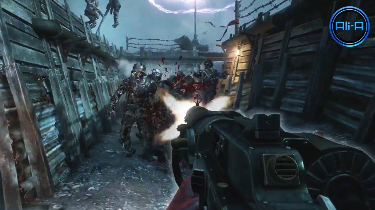 """Black Ops 2 """"ORIGINS"""" Zombies """"APOCALYPSE"""" Trailer!"""