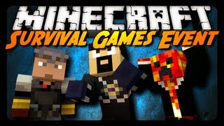 Minecraft: YOUTUBER SURVIVAL GAMES! - AntVenom POV