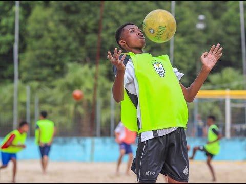 CBF Social realiza festival de beach soccer em São Paulo