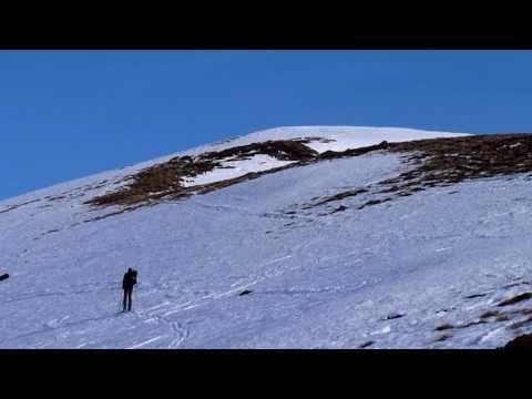 Ascensión y descenso con esquís del Pic de Lhens