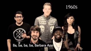 Pentatonix - Evolution Of Music (LYRICS WITH VIDEO)