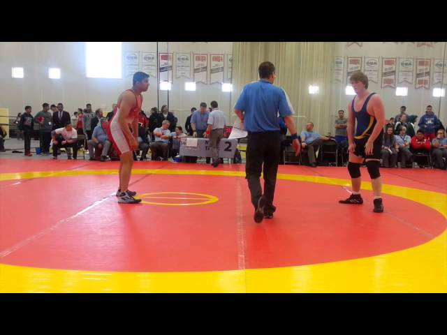 2014 Cadet National Championships: 100 kg Final Jasonpreet Bains vs. Jacob Broeders