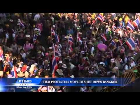 Thai Protesters Move to Shut Down Bangkok