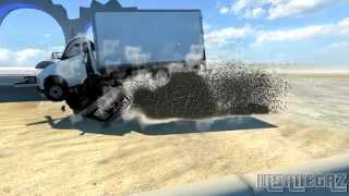 BeamNG Drive Alpha Crash Testing #32 HD