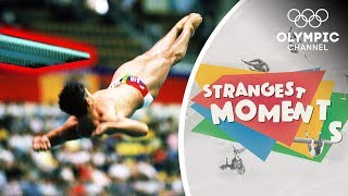 The Diver who hit the Springboard at the Olympics | Strangest Moments