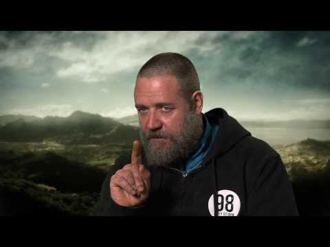 "Noah: Russell Crowe ""Noah"" On Set Movie Interview"