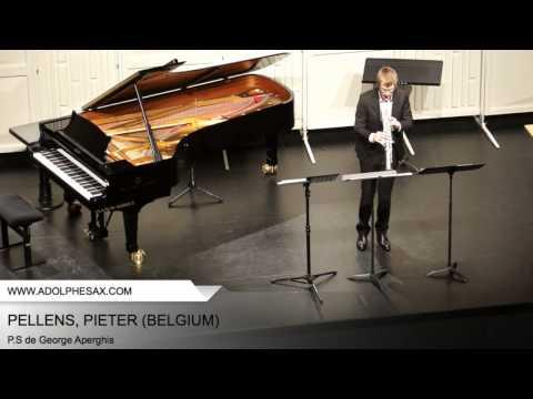 Dinant 2014 - PELLENS, Pieter (P.S de George Aperghis)