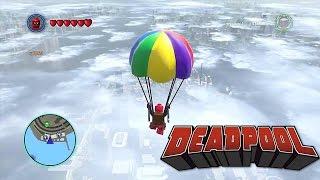 LEGO Marvel Superheroes Deadpool Parachutes Almost