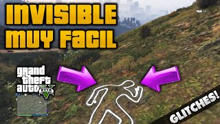 GTA V Online Como Ser Invisible Indetectable Al Enemigo Y