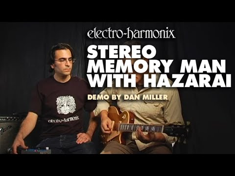 Electro Harmonix Stereo Memory Man w/ Hazarai Digital Delay & Looper for Guitar