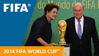 Six years ago....Brazil was awarded FIFA World Cup 2014™