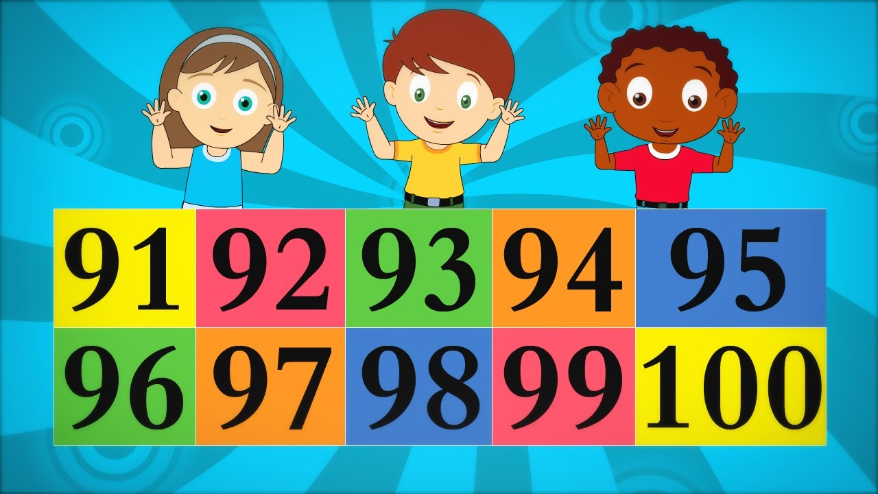 The Big Numbers Song for Children - Ep 7