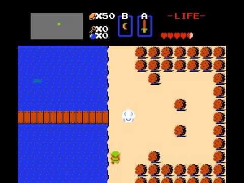 Legend of Zelda - Legend of Zelda White Sword Location +link - User video