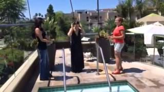 Video: ALS Ice bucket challenge - Sibel Kekilli