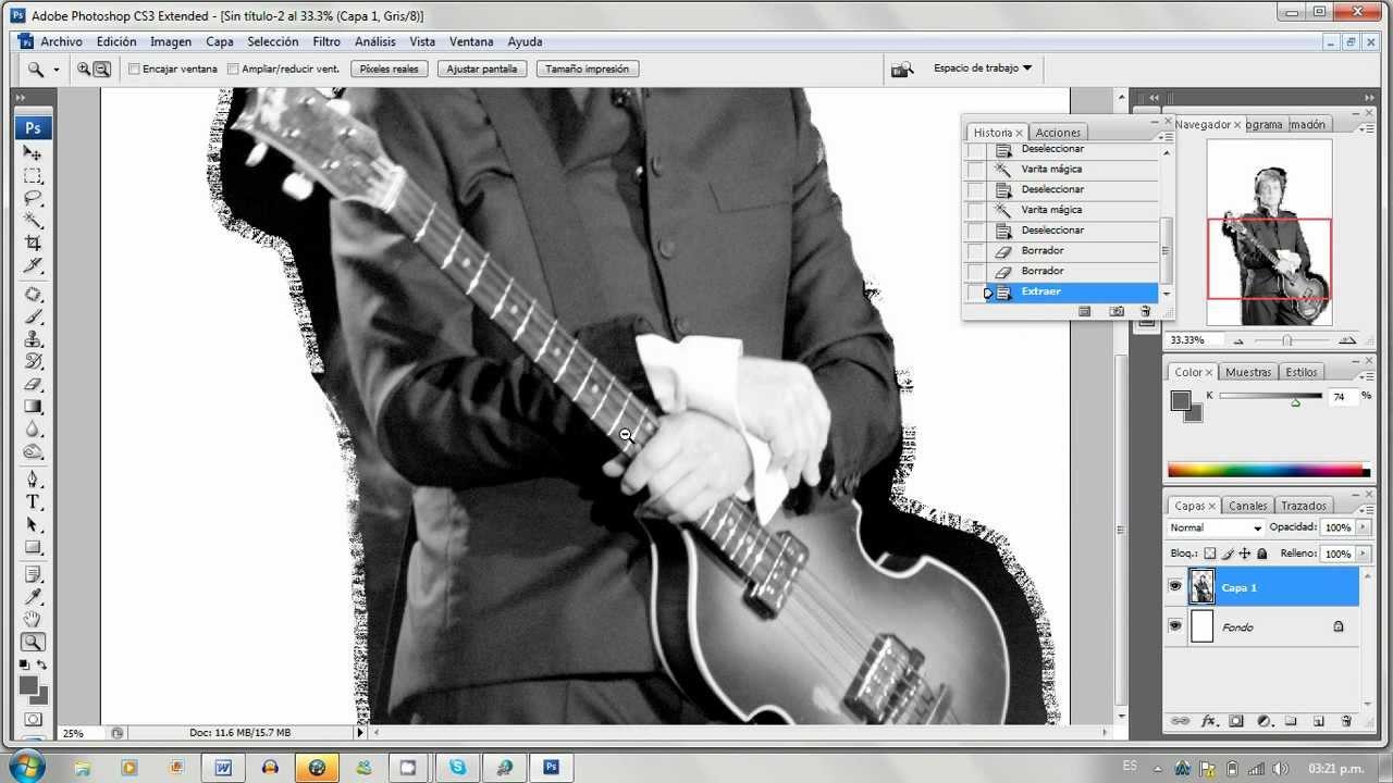 Curso de Photoshop CS3 gratis. aulaClic.Fotografía Digital