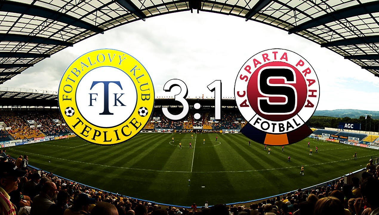 Teplice 3-1 Sparta Praha