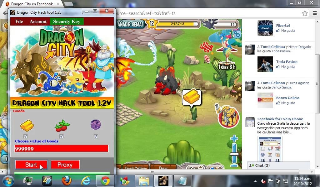 descargar hack para dragon city - YouTube