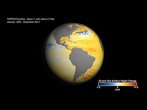 NASA Sea Level Rise FROM Space