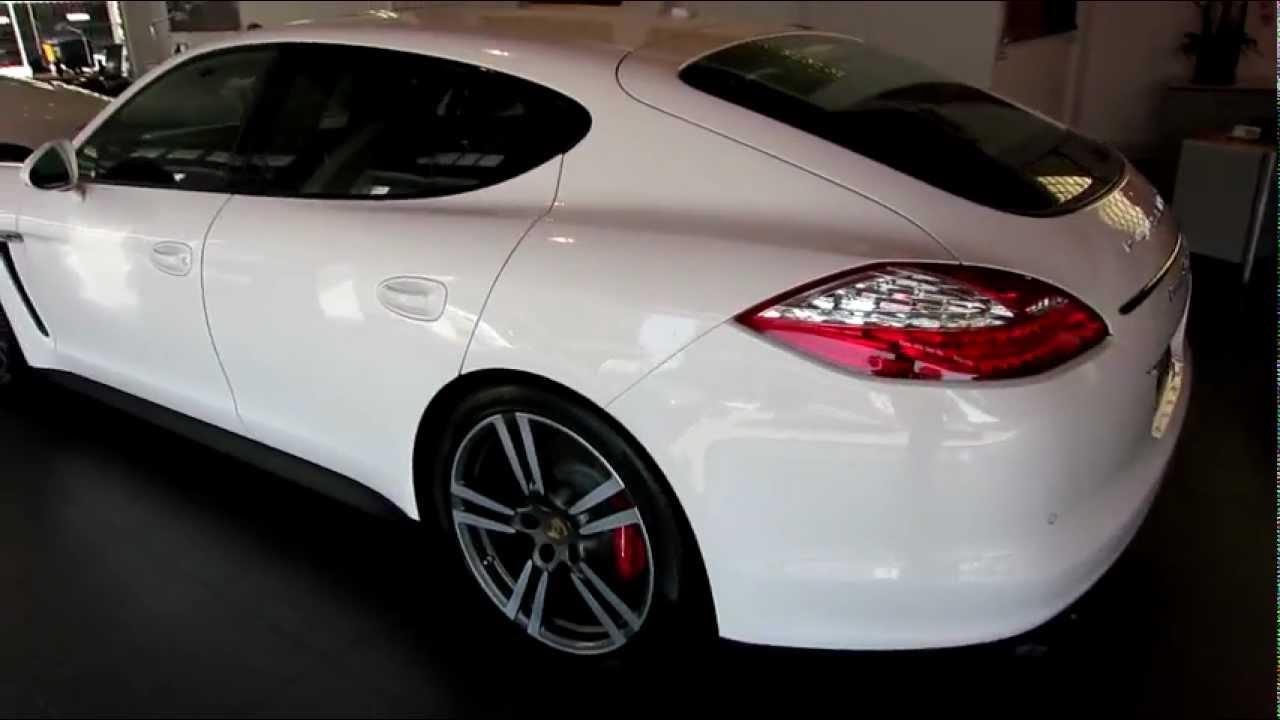 2013 Porsche Panamera Gts Carrara White Now Available Mov