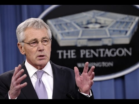 Hagel Forced to Cut Troops to Balance the Budget