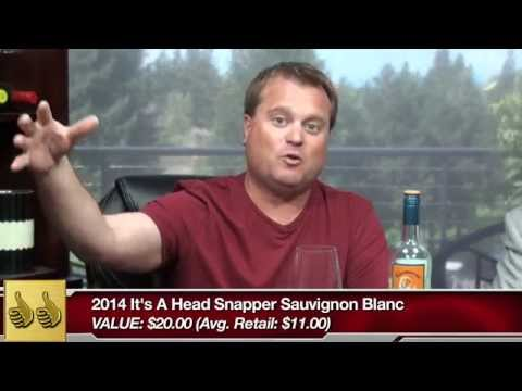 Thumbs Up Wine Review:  The 2014 It's a Head Snapper Sauvignon Blanc tells you right on the label what it's going to do to you.  When you drink this wine valued at $20 and then find out it only costs, $11 – you'll do a double take!  We're not joking.  Of the hundreds of Sauvignon Blancs that we've recently blind tasted, this one rose to the top.   Click below and download our free wine review app, and you'll always find the best bottles when you're shopping in the wine aisle: iPhone: https://itunes.apple.com/us/app/wine-finder-by-thumbsupwine.com/id537442643?mt=8 Android: https://play.google.com/store/apps/details?id=com.thumbsupwine.ads Windows Phone: http://www.windowsphone.com/en-us/store/app/winefinder/d80430af-75e1-4090-abe5-131ce10469d6 Windows: http://apps.microsoft.com/windows/en-us/app/a6d01b26-96df-46b9-9739-bbba03b0a722  Check out our website: http://www.thumbsupwine.com/  For advance notice on new wines and to win prizes: Like us on Facebook: https://www.facebook.com/ThumbsUpWineReview Follow us on Twitter: https://twitter.com/ThumbsUpWine