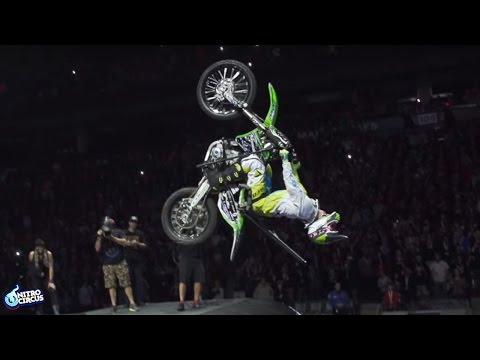 World First Paraplegic Backflip on a Motorbike