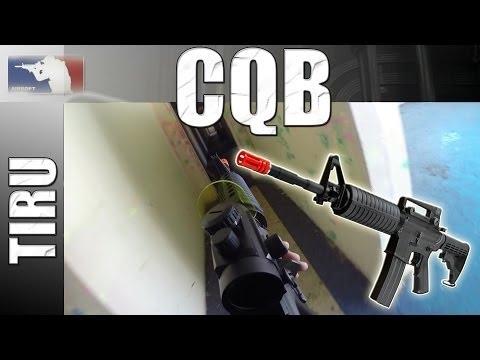 Airsoft: Partida CQB #2 (Close Quarter Battle)