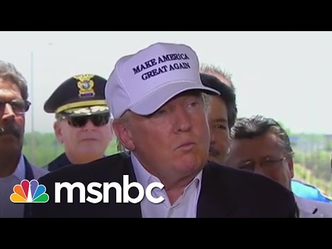 Donald Trump Speaks At US-Mexico Border | msnbc