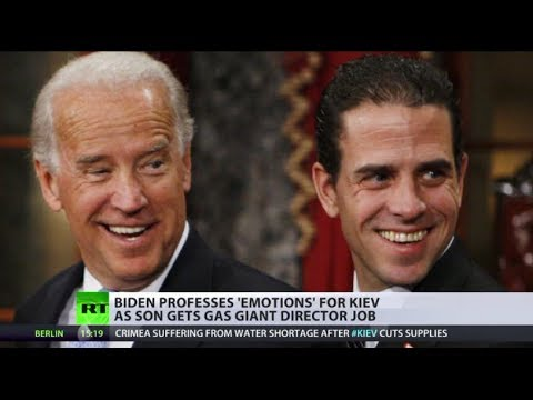 Jobs for the boys: Biden's son signs for Ukraine gas giant