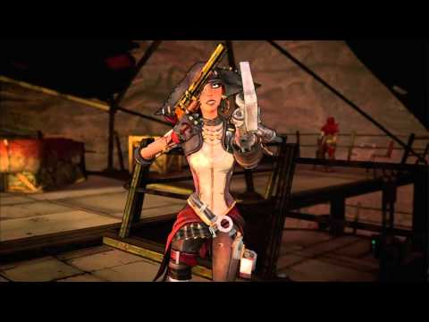 Captain Scarlett and Her Pirate's Booty — трейлер DLC для Borderlands 2
