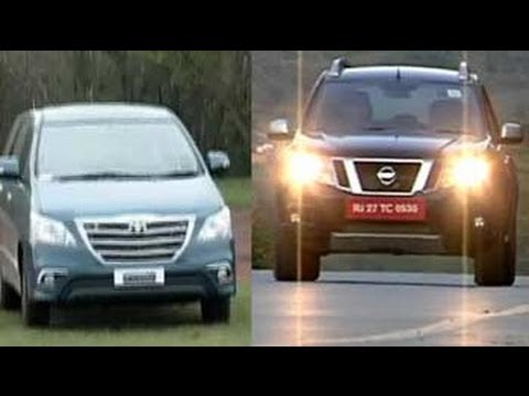 Nissan bets on the Terrano and Toyota facelifts the Innova yet again