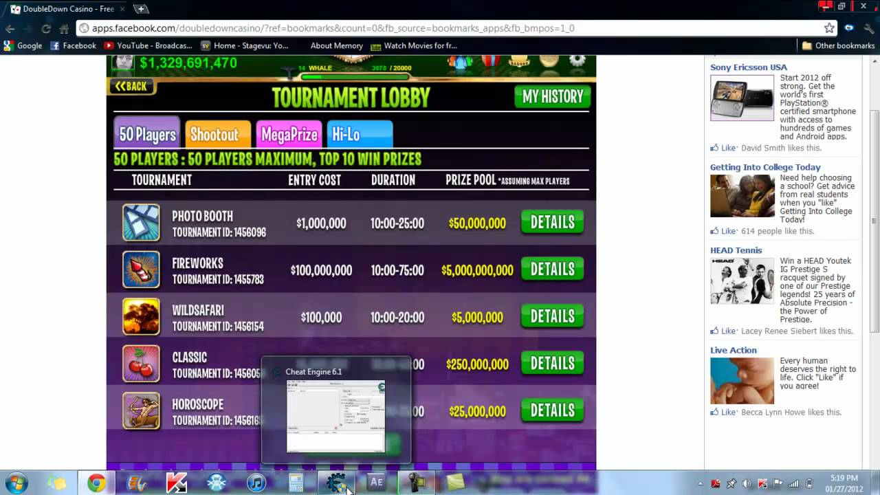 doubledown casino hack cheat engine
