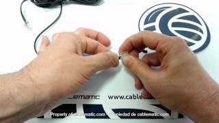 Come Montare Un Connettore RJ11 Per Il Cavo Telefonico