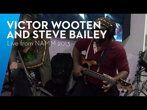 PreSonusLive from NAMM 2013: Victor Wooten, Steve Bailey, and David 