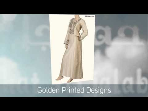 """Golden Snowflake"" Kaftan Dress & Islamic clothing for women"
