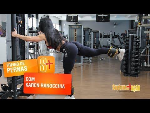 Karen Ranocchia - Glúteos na polia