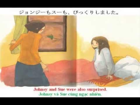 [Kênh học tiếng Nhật] Nghe kể truyện tranh - Chiếc lá cuối cùng