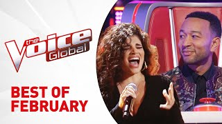 BEST AUDITIONS of FEB 2019 in The Voice