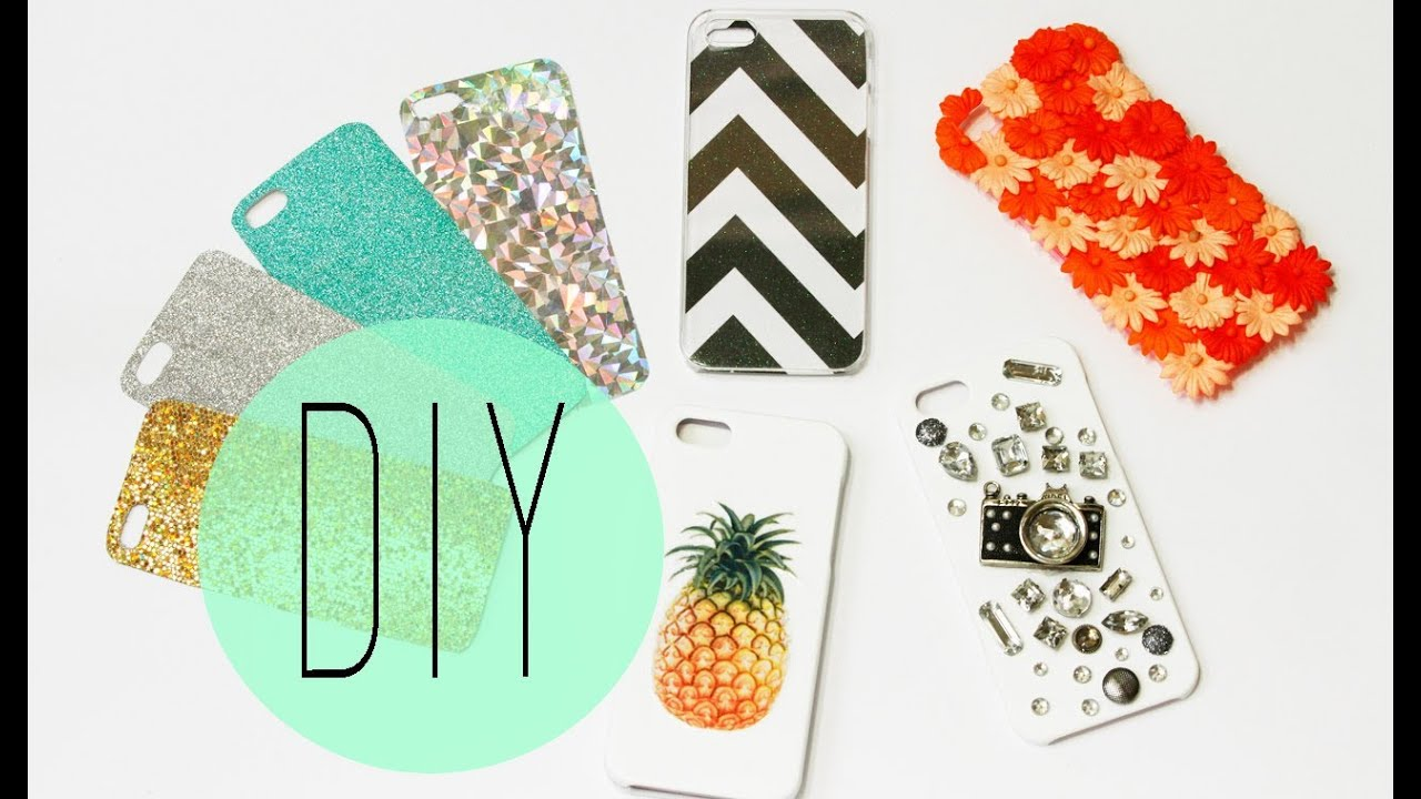 Diy Cell Phone Case How To Make Cute Iphone 5s Designs