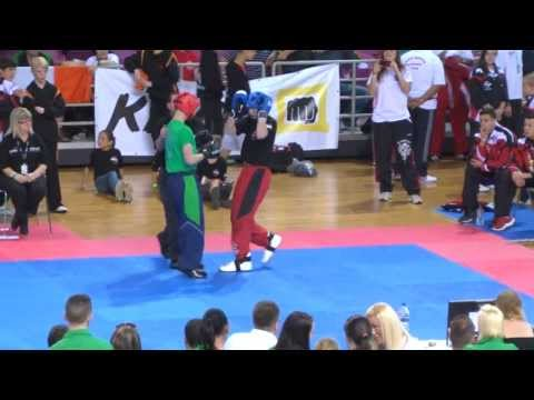 WKU World Championships Heraklion Crete 2013 Finals Light Contact Juniors (13-17) male -60kg
